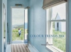 "Benjamin Moore's 2014 Color of the Year: ""Breath of Fresh Air"""