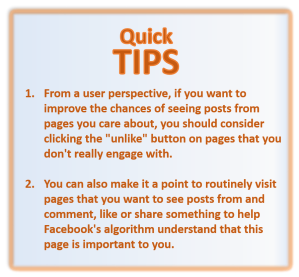 Quick Facebook Tips